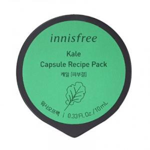 INNISFREE Capsule Recipe Pack Arcmaszk - Kale (tisztító) 10ml