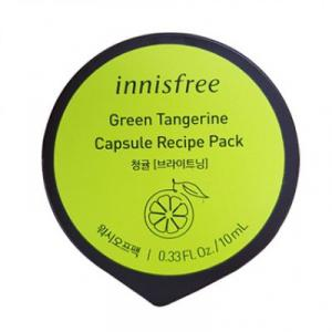 INNISFREE Capsule Recipe Pack Arcmaszk - Zöld Mandarin 10ml