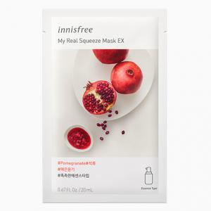 INNISFREE My Real Squeeze Arcmaszk Pomegranate / Gránátalma (Feszesítő) 20ml