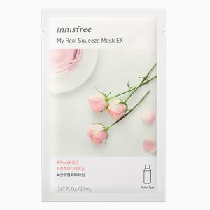 INNISFREE My Real Squeeze Arcmaszk Rose / Rózsa 20ml