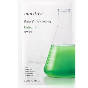 INNISFREE Skin Clinic Arcmaszk - Catechin (Antioxidáns) 20ml