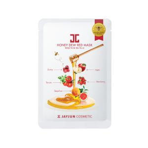 JAYJUN Honey Dew Arcmaszk - Piros (Revitalizáló) 25ml