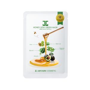 JAYJUN Honey Dew Arcmaszk - Zöld (Nyugtató) 25ml