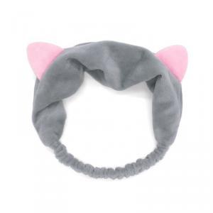 Macskafüles Kozmetikai Hajpánt - Szürke