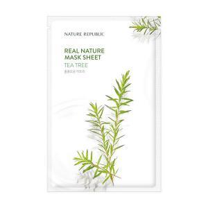 NATURE REPUBLIC Real Nature Arcmaszk - Teafa (Nyugtató) 23ml