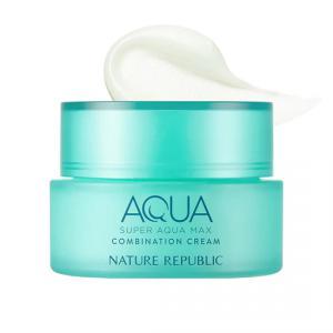 NATURE REPUBLIC Super Aqua Max Combination Watery Arckrém 80ml (kombinált bőrre)