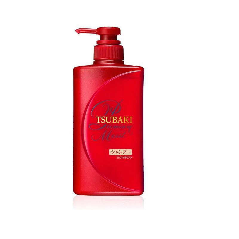 TSUBAKI Sampon - Premium Moist 490ml