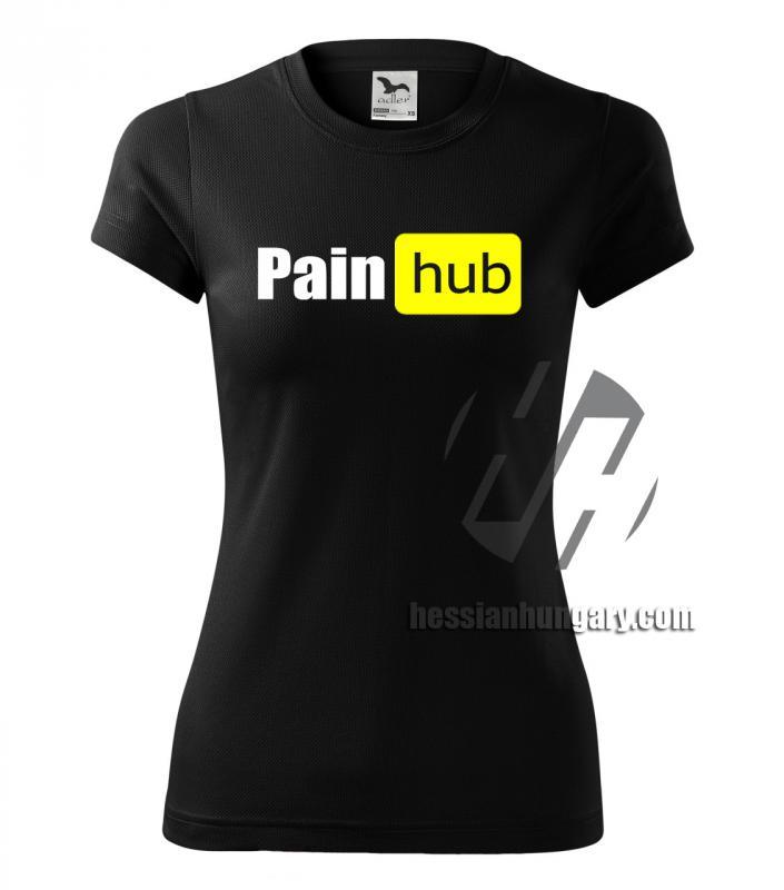 Pain hub póló - több fazonban és színben