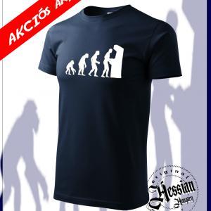 Gamer evolúció póló -több színben