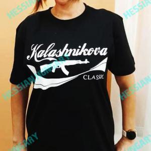 Kalashnikova póló (fekete)