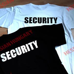 Security póló -több színben