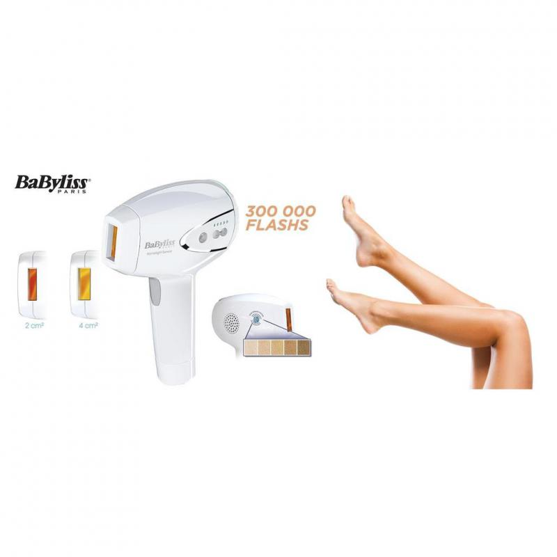 BaByliss Homelight Sensor G960e tartós szőrtelenítő epilátor