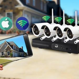 4 kamerás WI-FI kameraszett