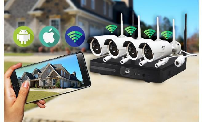 Kamera szerelés ipari csarnokra, családi házra