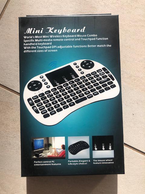 Mini Keyboard billenytyűzet vezeték nélküli okos TV hez PC hez