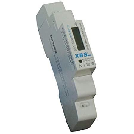 sorolhato DIGITÁLIS fogyasztásmérő sinre XBS MID-MN-1D LCD 45A