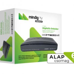 MinDig TV Extra Alapcsomag (6 hó előre fizetett csomag)+prime dekoder