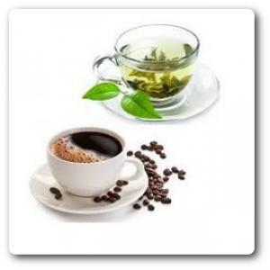 Tea, kávé