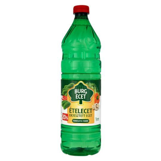 BURG BIOLÓGIAI ERJESZTÉSŰ ECET 20% - 1 liter
