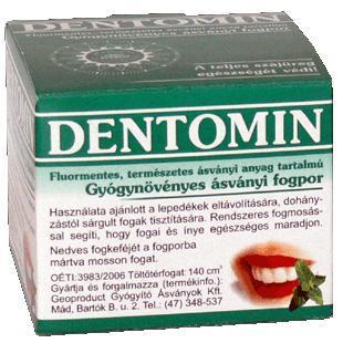 DENTOMIN-N FOGPOR GYÓGYNÖVÉNYES 95 g