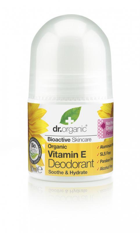 DR. ORGANIC BIO E-VITAMINOS GOLYÓS DEZODOR 50 ml