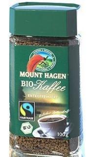MOUNT HAGEN BIO KOFFEINMENTES ARABICA INSTANT KÁVÉ - Fairtrade 100 g