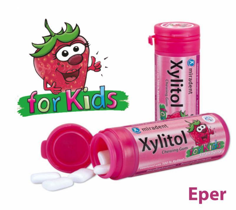 XYLITOL KIDS RÁGÓGUMI EPER 30 db