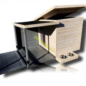 100X110 Fűthető kutyaházak