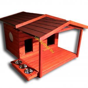 140X100 Fűthető kutyaházak