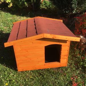 70X90 Fűthető kutyaházak