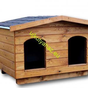 75X100 dupla kutyaházak