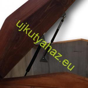 Tetőhöz gáztelszkóp, zsanérral