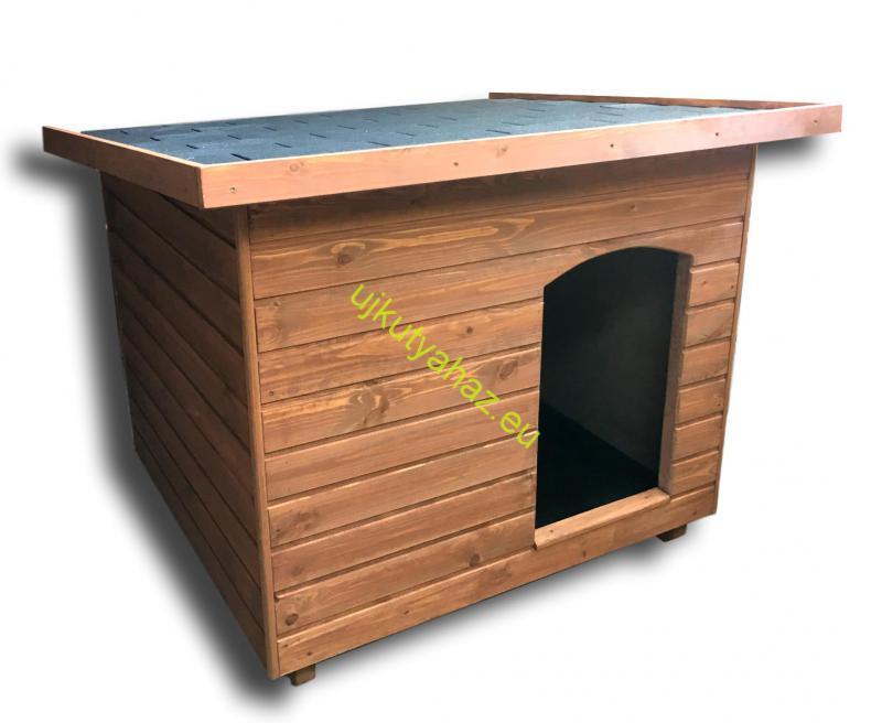 100X110 hőszigetelt kutyaház lapos tetős