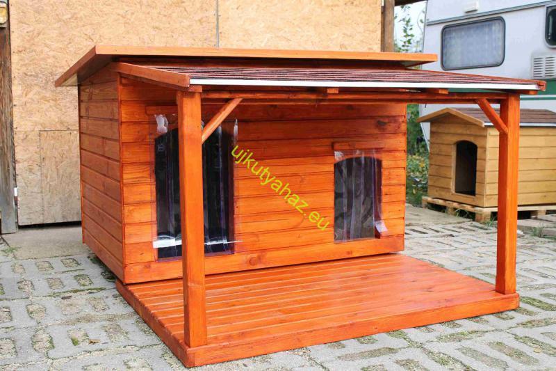 140X100 hőszigetelt dupla lapos tetős teraszos