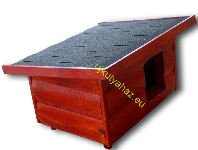 50X70 extra hőszigetelt kutyaház rönkhatású