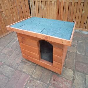 50X70 hőszigetelt kutyaház lapos tetős