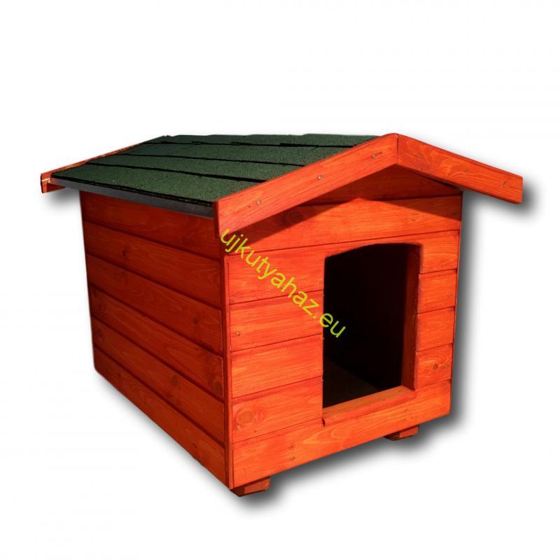 60X80 kutyaház amerikai tetős mahagóni