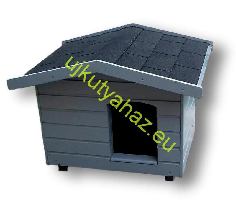 60X80 kutyaház fordított amerikai tetős