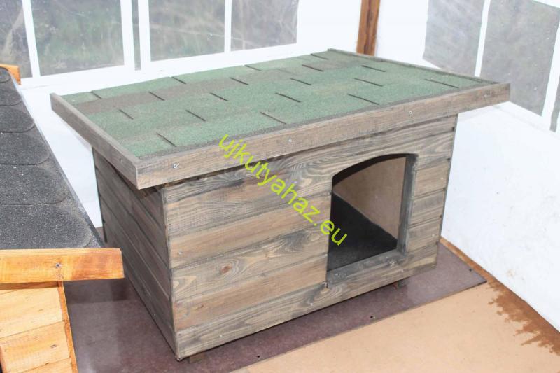 60X80 kutyaház lapos tetős