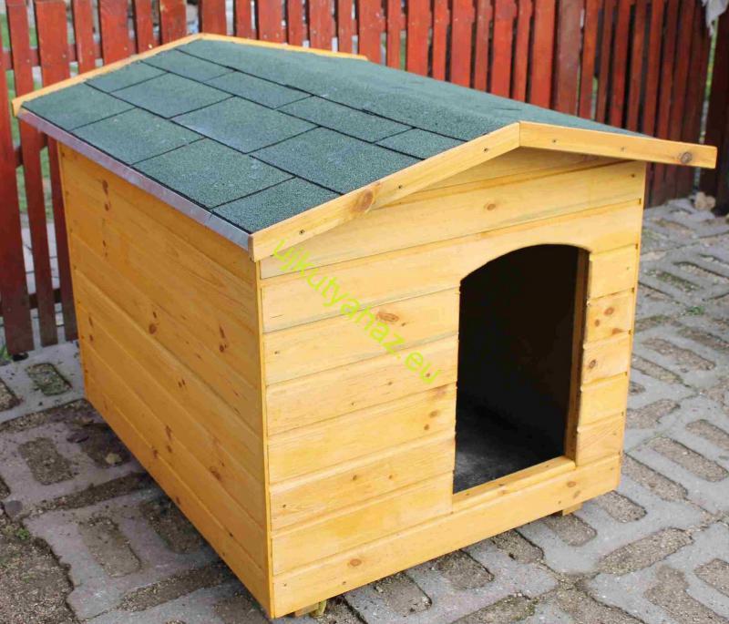 70X90 hőszigetelt kutyaház amerikai tetős