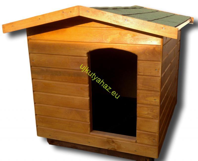 90X100 hőszigetelt kutyaház amerikai tetős