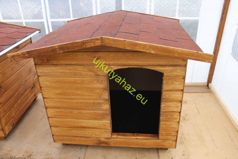 90X100 hőszigetelt kutyaház fordított amerikai tetős
