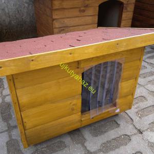 60x80 rönkhatású lapos tetős fenyő