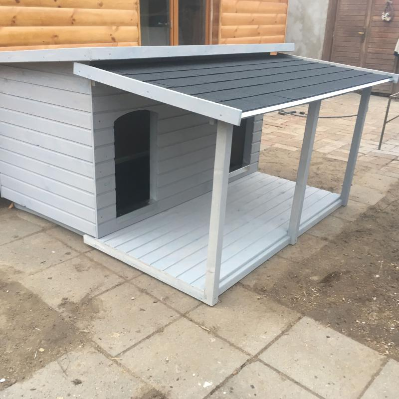 Fűthető 180X100 hőszigetelt dupla lapos tetős teraszos