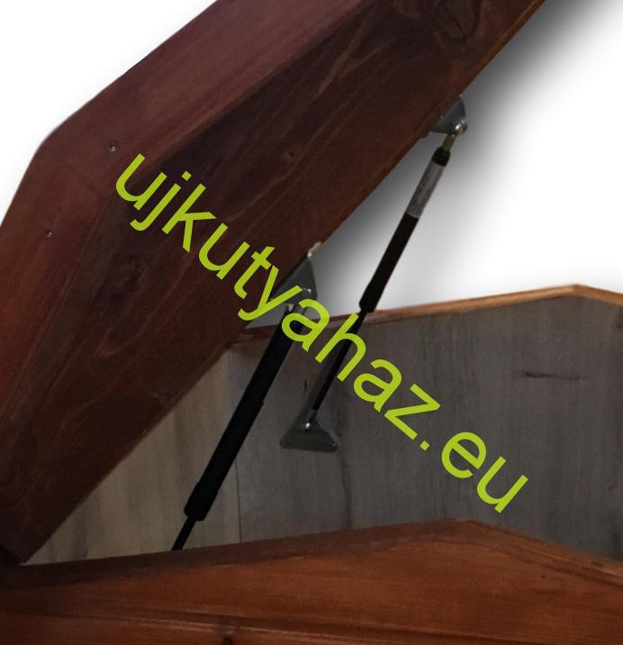 Gáztelszkóp kutyaház tetőhöz