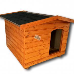 100X100 kutyaház amerikai tetős cseresznye