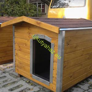 Élvédőzött 80X100 hőszigetelt kutyaház amerikai tetős