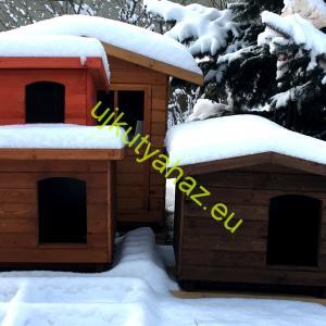 Extra hőszigetelés óriás kutyaházba, falvastagság 8cm