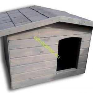 Extra hőszigetelt 70X90 hőszigetelt kutyaház fordított amerikai tetős