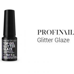 Profinails Glitter Glaze lakkzselé